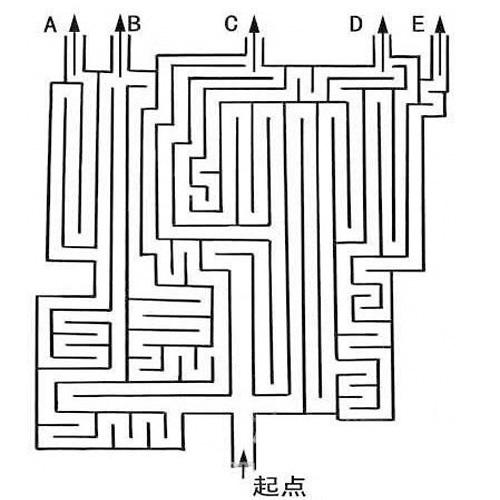 迷宫小车电路图